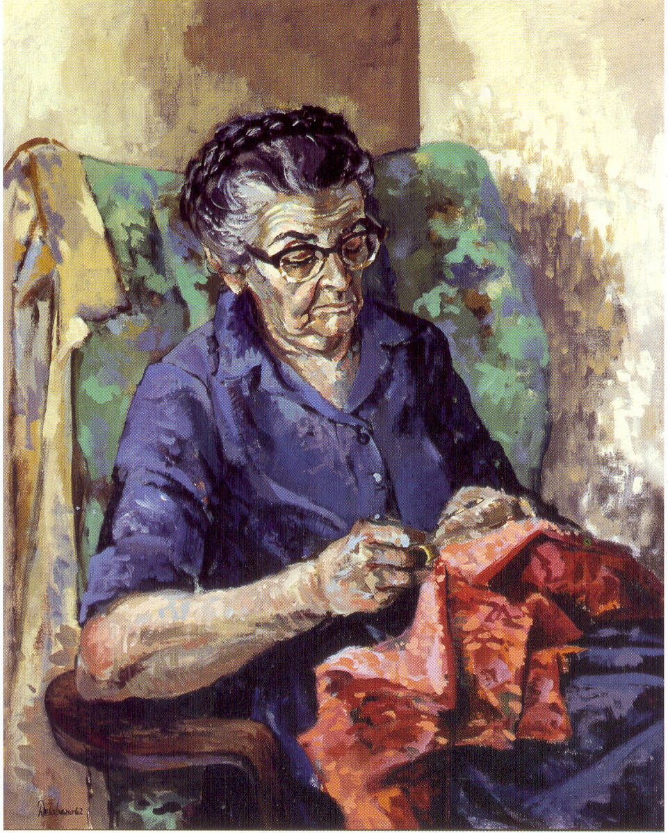 Portrait of Granny  Foley